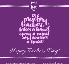 happy teachers day purple
